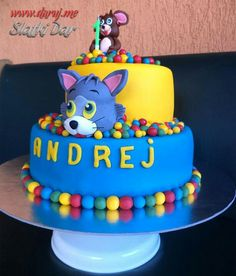 1000 images about Tom  Jerry birthday party on Pinterest