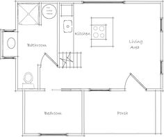 Tiny house, House layout plans and Murphy beds on Pinterest