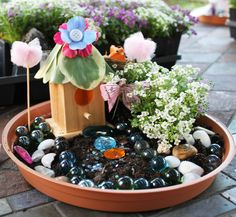 Fairy Garden Party Birthday Party Ideas Gardens Birthdays And