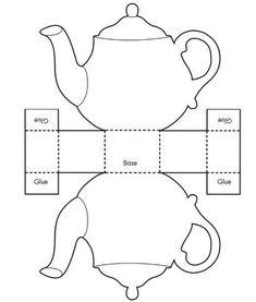 Make a teapot card