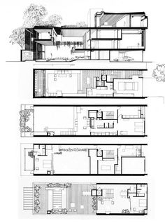 Ludwig Mies van der Rohe. Pavilion Apartments and Town