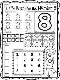 1000+ ideas about Number Worksheets on Pinterest