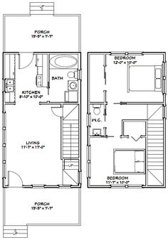Cabin floor plans, Cabin and Barns on Pinterest