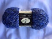 angel hair black solid - color