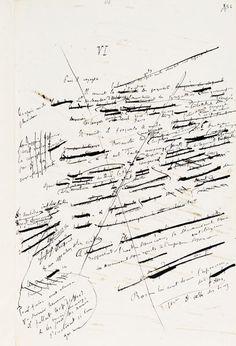 Flaubert, manuscrit de Un Cœur simple, Paris, Bibliothèque