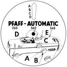 Für Pfaff 230 332 260 262 360 362 Automatic Mechanismus