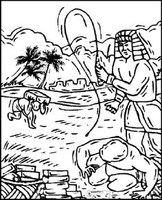 1000+ images about Exodus Coloring Pages on Pinterest