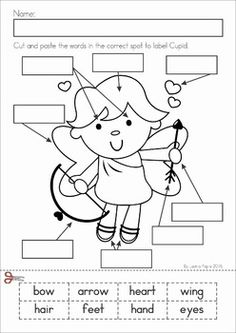 Valentine's Day Letter Sequencing Activity & Printable
