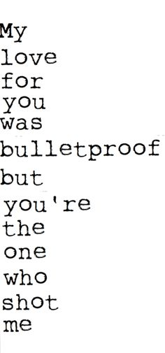 Bulletproof Love Pierce Veil Lyric Quotes