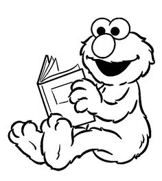 1000+ images about Sesame Street Coloring Pages on