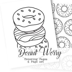 National Donut Day! A FREE xo-lp Coloring Sheet to