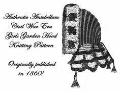 World Turn'd Upside Down: Civil War Knitted Garters from