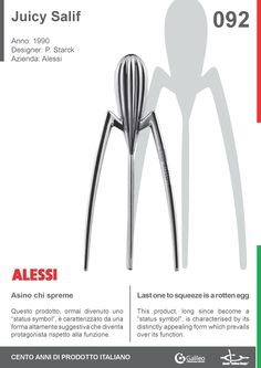 PHILIPPE STARCK PURE GOLD JUICY SALIF BY ALESSI, LIMITED
