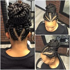 Latest Ghana Weaving Hairstyles 4 Maboplus Com Nigerian