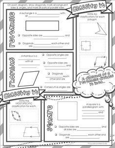 Formative Assessment Lessons with transformations on the