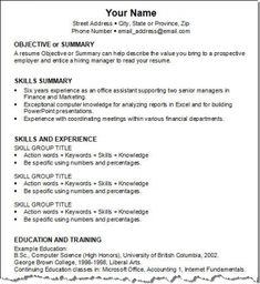 Resume Templates Job Resume Template Free Word Templates Mrs