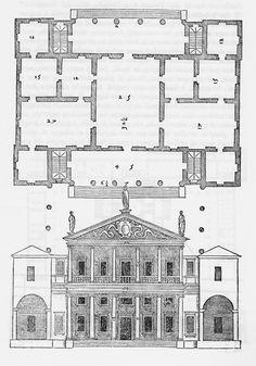 2) Villa Pisani Ferri; Bagnolo di Lonigo (Vicenza); built