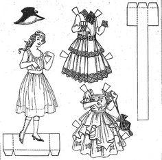 1000+ images about Boston Sunday Globe Paper Dolls on