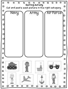 Veterans day, Free printable worksheets and Printable