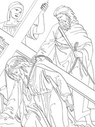 1000+ images about Catholic coloring pages on Pinterest