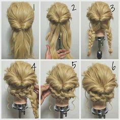 Braids Twists And Buns 20 Easy DIY Wedding Hairstyles Wedding