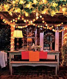 02 17 Rustic Ideas Plum Pretty Sugar Twinkling Lightings And