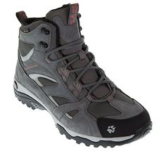 jack wolfskin womens vojo mid texapore high rise hiking boots