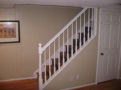 basement stairs railing staircase railing ideas design photo