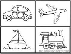 1000+ images about preschool transportation theme on
