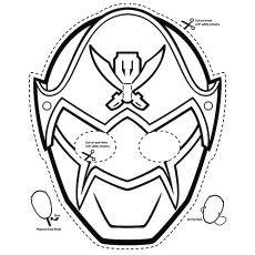 Power Rangers!!! Paper Plate Masks