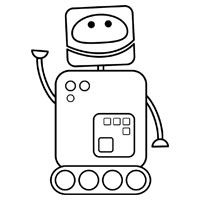 1000+ images about Childrens Robot Colouring Pages on