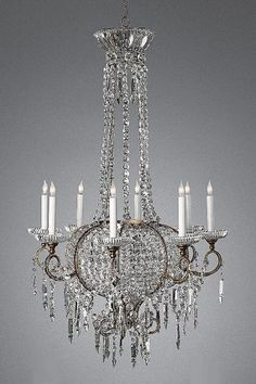 Victorian Crystal Chandeliers And Crystals On Pinterest