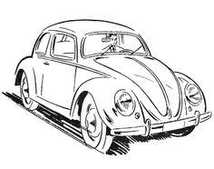 1967 Pontiac GTO Drawing by Vertualissimo.deviantart.com