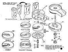 Vintage Tupperware Egg Separator Plastic Egg by