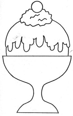 Street lamp pattern. Use the printable outline for crafts