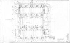 Salk Institute Louis Kahn Circulation Diagram