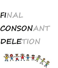 1000+ images about SLP Final Consonant Deletion on