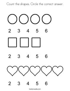 Number Coloring Pages, Worksheets, and Mini Books on