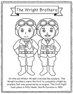 The Wright Brothers: Fluency-Building Practice Pages