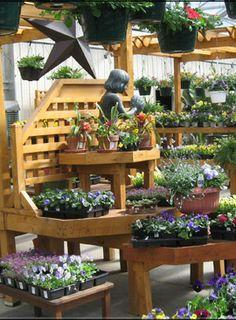 Garden Center Merchandising Display Ideas The Abundant Roof