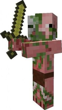 Lego Minecraft Pigman Zombie   Lego Minecraft   Pinterest ...