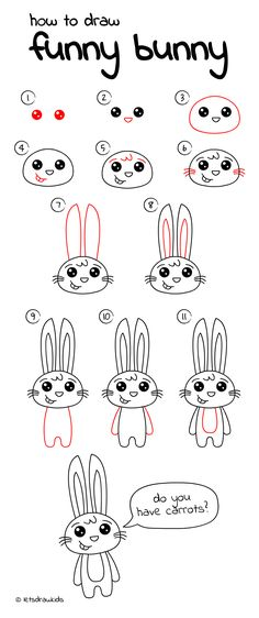 HOW TO DRAW ANIMALS : Easy step by step instructions on