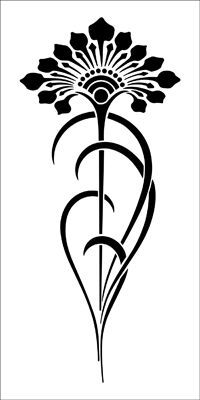 Art nouveau tattoo. Drawn by Kelly. I would add color and