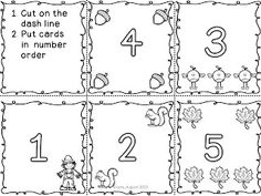 Common Core Math Kindergarten comparing numbers (more/less