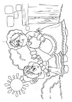Little Red Riding Hood coloring pages on Coloring-Book