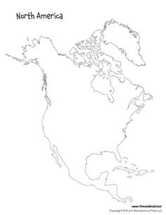 North america, America and Templates on Pinterest