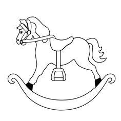 1000+ images about rocking horse to emborder on Pinterest
