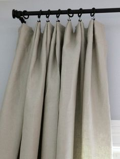 Love The Hooks Hanging From The Ceiling On This Valance Window