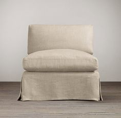 slipcover for armless slipper chair swivel gold legs alicia in blue house and home pinterest chairs
