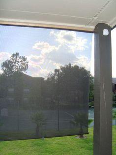 DIY Patio Sun Shade Outside the House Pinterest Sun